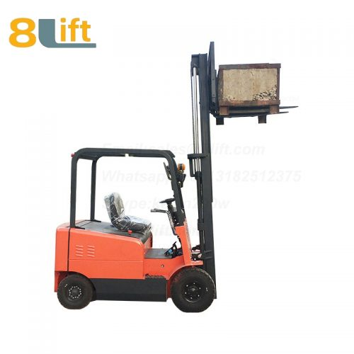 Battery Power Lift Four Wheels Drive Electric forklift truck-3-1