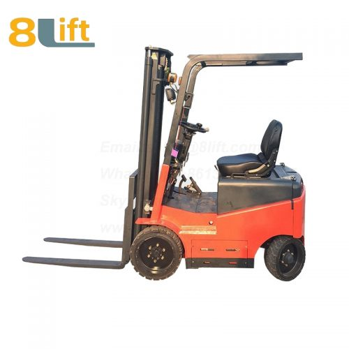 Battery Power Lift Four Wheels Drive Electric forklift truck-4-1