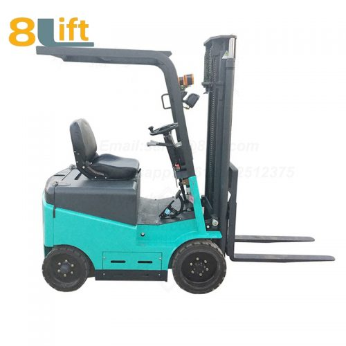 Battery Power Lift Four Wheels Drive Electric forklift truck-5-1