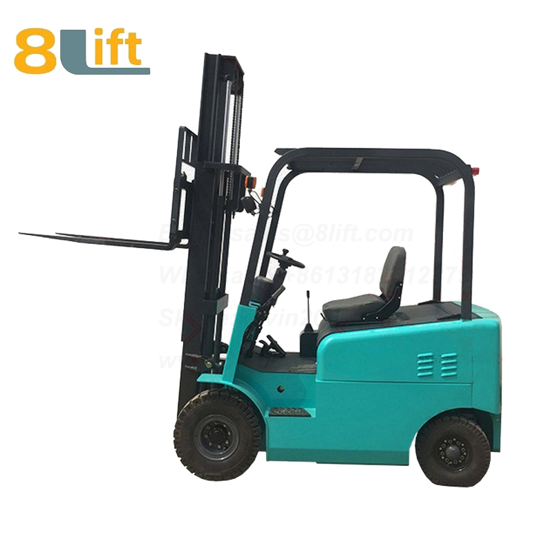 Battery Power Lift Four Wheels Drive Electric forklift truck-6-1