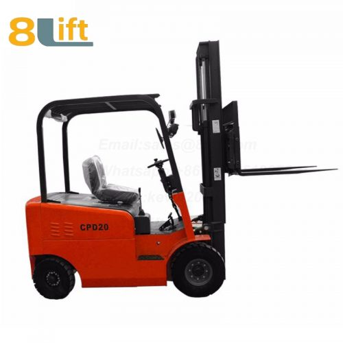 Battery Power Lift Four Wheels Drive Electric forklift truck-7-2