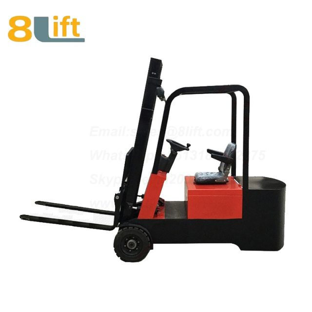 Battery Power Lift Three Wheels Drive Electric forklift truck-11-1
