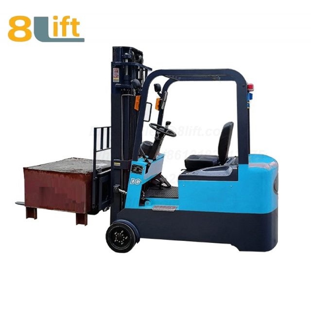 Battery Power Lift Three Wheels Drive Electric forklift truck-5-1