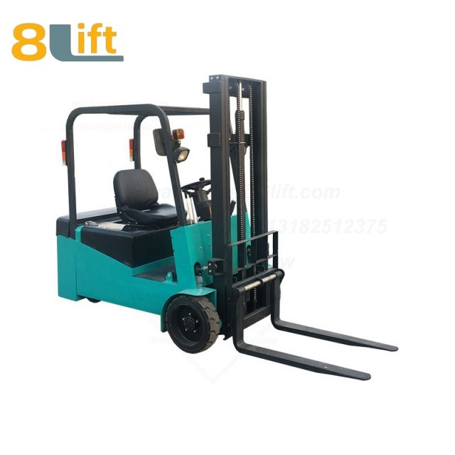Battery Power Lift Three Wheels Drive Electric forklift truck-6-1