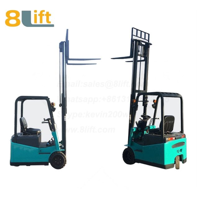 Battery Power Lift Three Wheels Drive Electric forklift truck-7-1