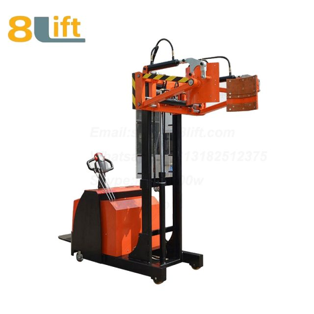 Counterweight Counter Balance Hydraulic Standing Drive Battery Power Lift Clamp Handing Clip Oil Drum Electric stacker1