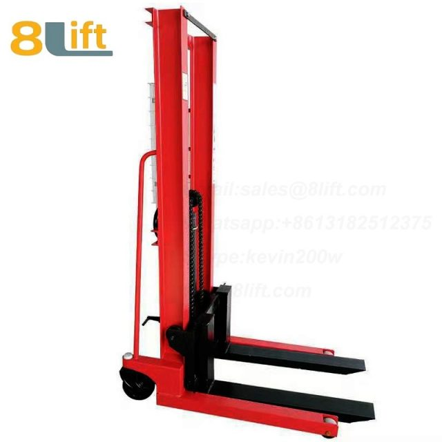 Hydraulic Manual hydraulic Stacker-3-1