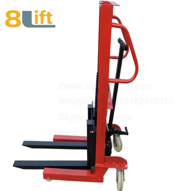 Hydraulic Manual hydraulic Stacker-6-1