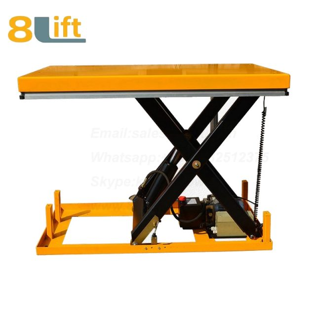 Hydraulic fixed stationary electric scissor platform lift table-1-1