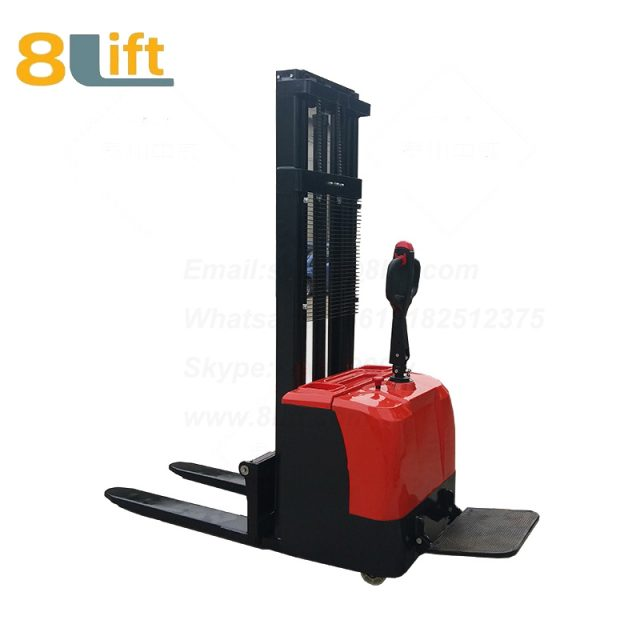 Hydraulic stand standing on driving full electric stacker-10-1