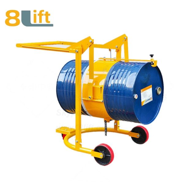 Mechanical Manual Hand Operated Move Lift Eagle mouth Clamp Handing Clip Hook Hoop Type Tilting Flip Rotate Oil Drum Truck Trolly Trolley1