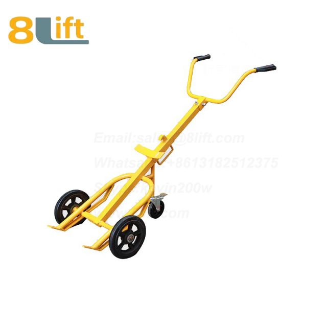 Mechanical Manual Hand Operated Move Oil Drum Truck Trolly Trolley DE400-1