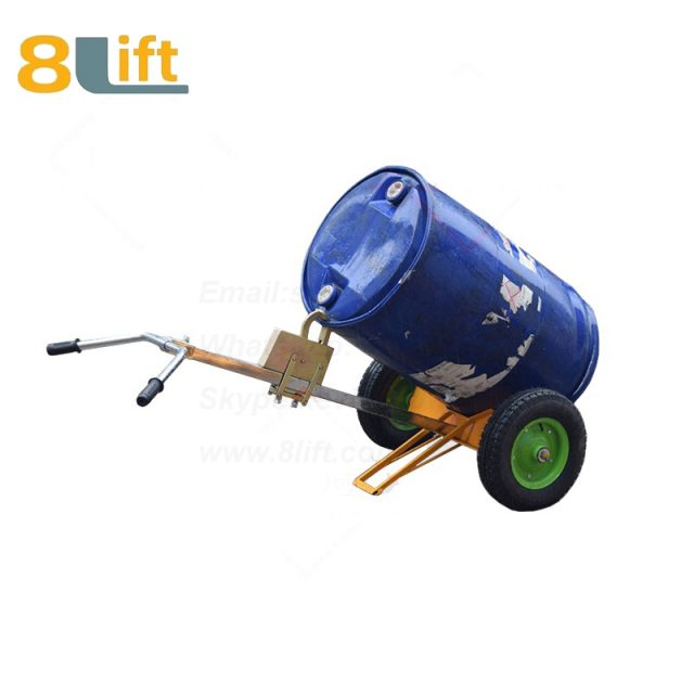 Mechanical Manual Hand Operated Move Oil Drum Truck Trolly Trolley DE450-1