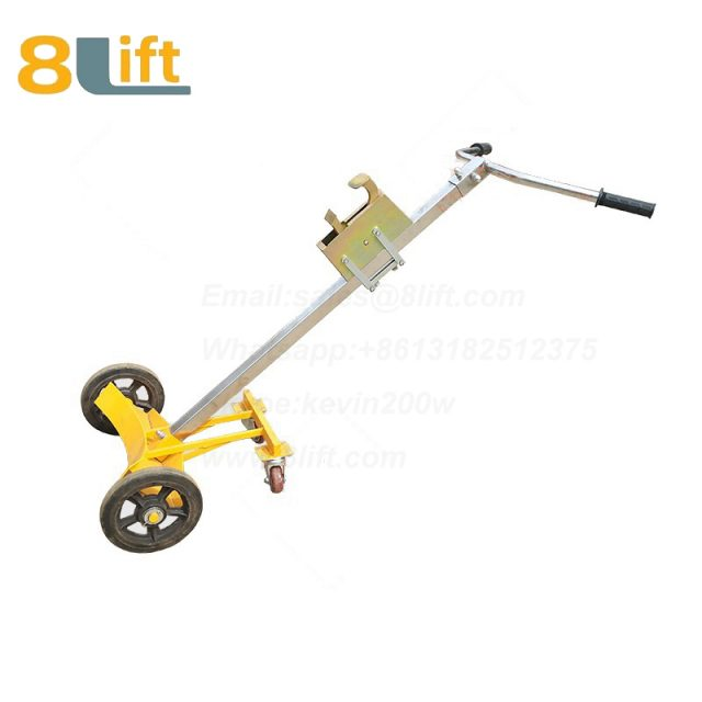 Mechanical Manual Hand Operated Move Oil Drum Truck Trolly Trolley DE450D-1