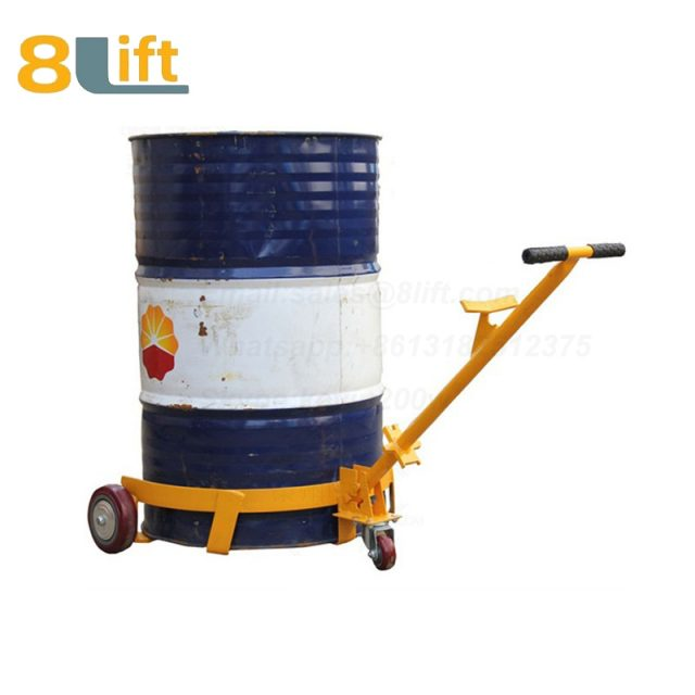 Mechanical Manual Hand Operated Move Oil Drum Truck Trolly Trolley1-1