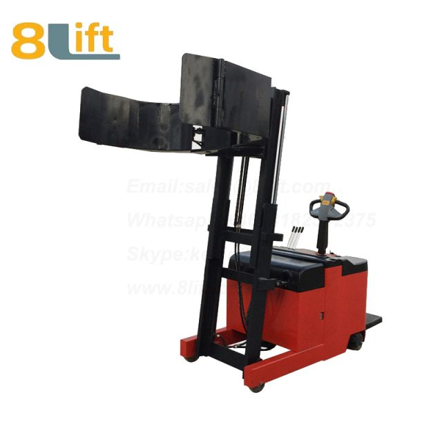 Tilted Tilt Forward backward Leaning Back Forerake Counter Balance Hydraulic Standing Drive Battery Power Lift Rotate Clamp Handing Clip Oil Drum Electric stacker1