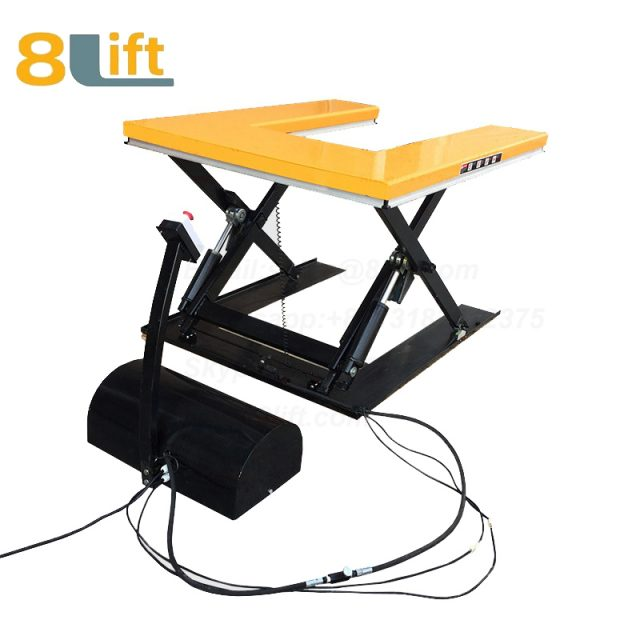 U shape electric Hydraulic lift table-1