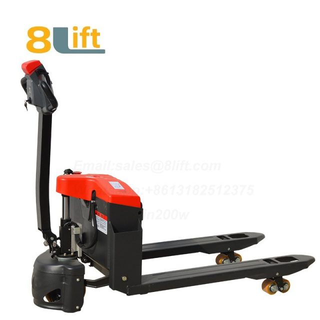 Hydraulic Automatic battery powered self propelled pedestrian walkie Small pallet jack electric Pallet Truck-8-1