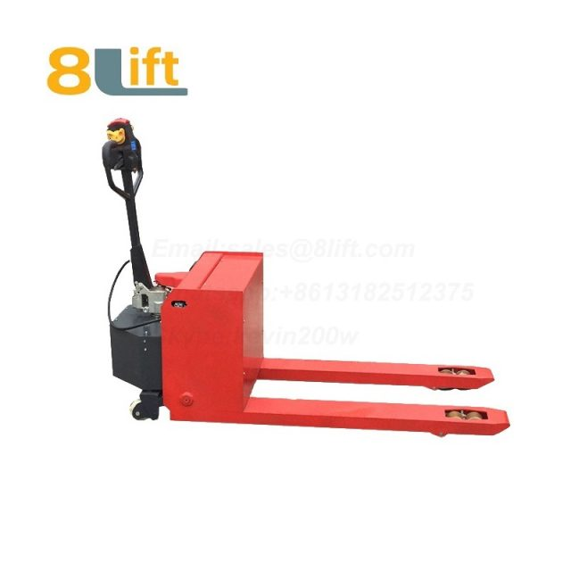 Hydraulic Automatic battery powered self propelled pedestrian walkie pallet jack electric Pallet Truck-12-1