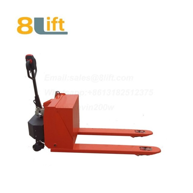Hydraulic Automatic battery powered self propelled pedestrian walkie pallet jack electric Pallet Truck-13-1
