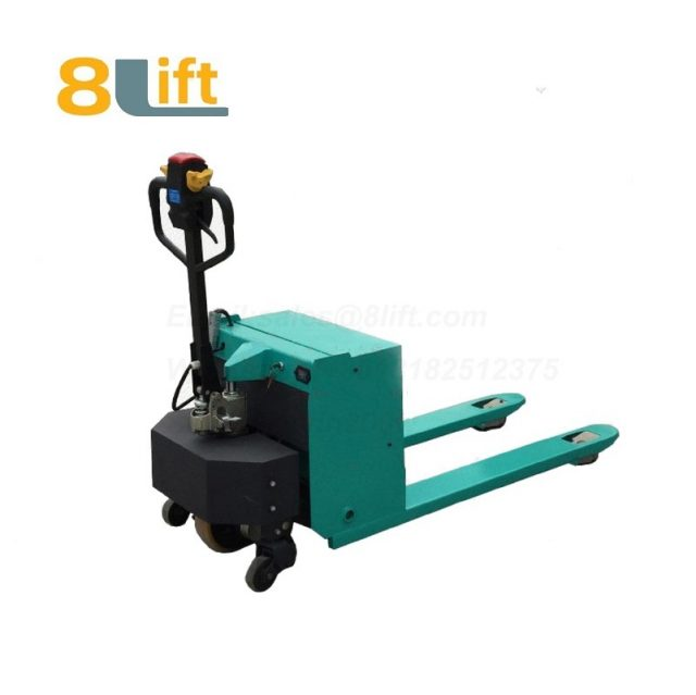 Hydraulic Automatic battery powered self propelled pedestrian walkie pallet jack electric Pallet Truck-14-1