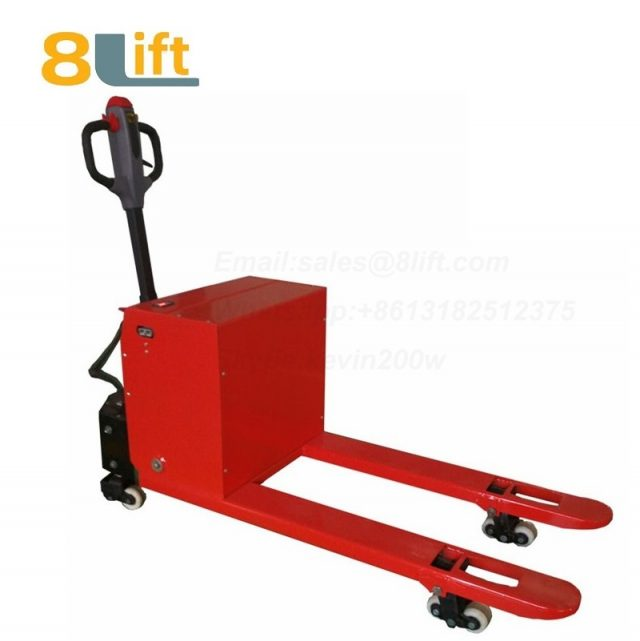 Hydraulic Automatic battery powered self propelled pedestrian walkie pallet jack electric Pallet Truck-15-1