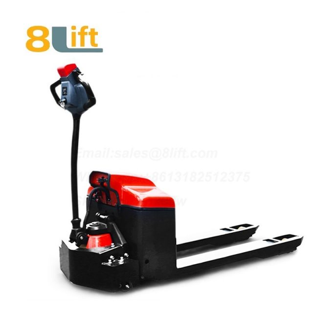 Hydraulic Automatic battery powered self propelled pedestrian walkie small pallet jack electric Pallet Truck-10-1