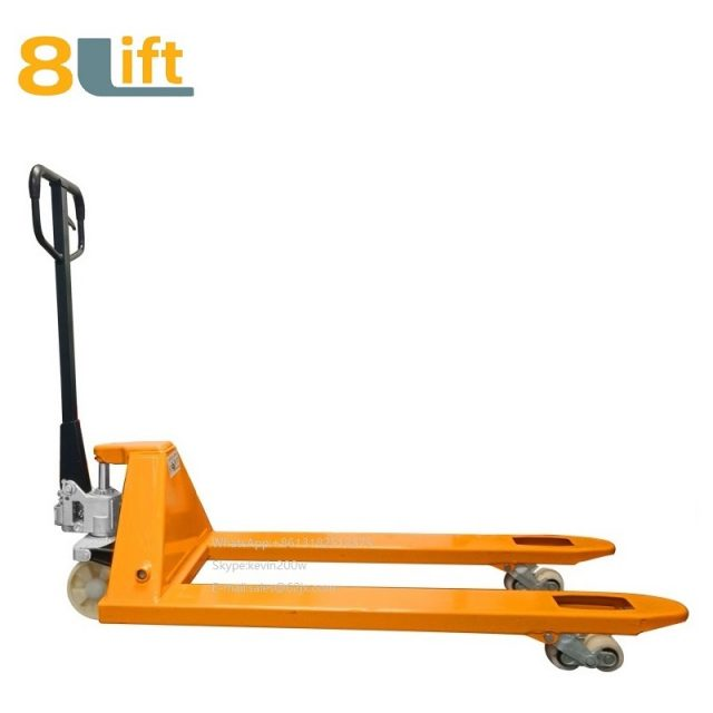 5000KGS 5T Hydraulic Manual Hand operated lift pallet jack Pallet Truck-12-1