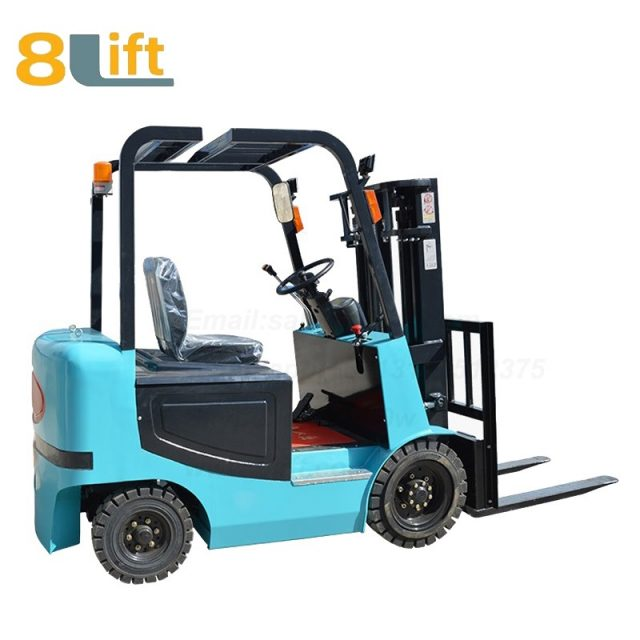 Battery Power Lift Four Wheels Drive Electric forklift truck-2-1