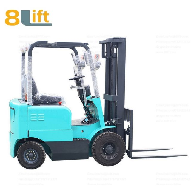 Battery Power Lift Four Wheels Drive Electric forklift truck-8-1