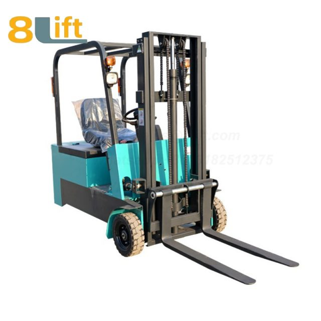 Battery Power Lift Three Wheels Drive Electric forklift truck-1-1