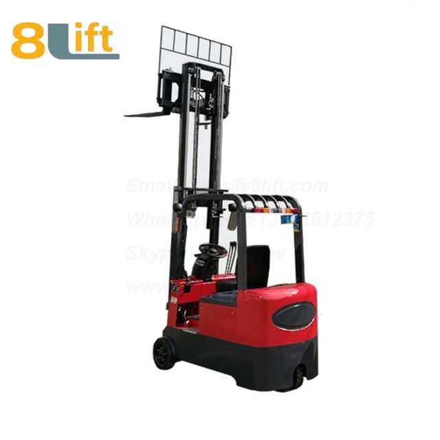 Battery Power Lift Three Wheels Drive Electric forklift truck-10-1