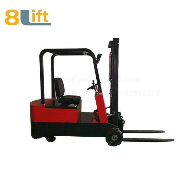 Battery Power Lift Three Wheels Drive Electric forklift truck-2-1