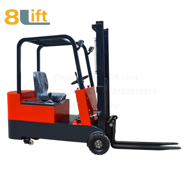 Battery Power Lift Three Wheels Drive Electric forklift truck-3-1