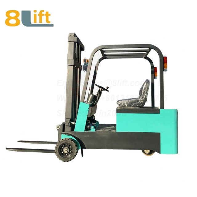 Battery Power Lift Three Wheels Drive Electric forklift truck-4-1