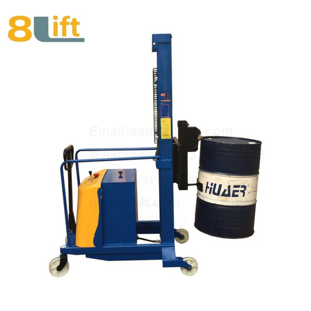 Counterweight Counter Balance Hydraulic Battery Power Lift Eagle mouth Clamp Handing Clip Hook Oil Drum Semi Electric stacker1
