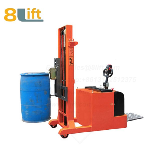 Counterweight Counter Balance Standing Drive Hydraulic Battery Power Lift Eagle mouth Clamp Handing Clip Hook Oil Drum Electric stacker1