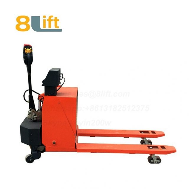 Hydraulic Automatic battery powered self propelled pedestrian walkie pallet jack weight scale electric Pallet Truck-1-1