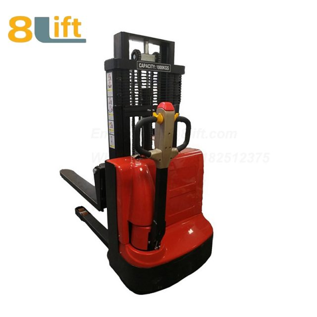 Hydraulic Automatic self propelled pedestrian walkie electric stacker-4-1