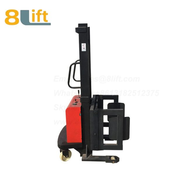 Hydraulic Battery Power Lift Hold Clip Clamp Oil Drum Semi Electric stacker1