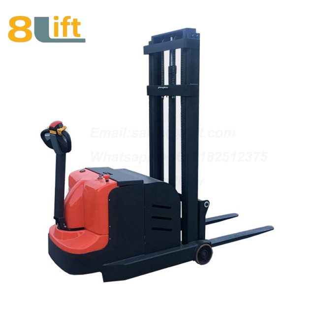 Hydraulic Counterweight Counter Balance Automatic self propelled pedestrian walkie electric stacker-3-1