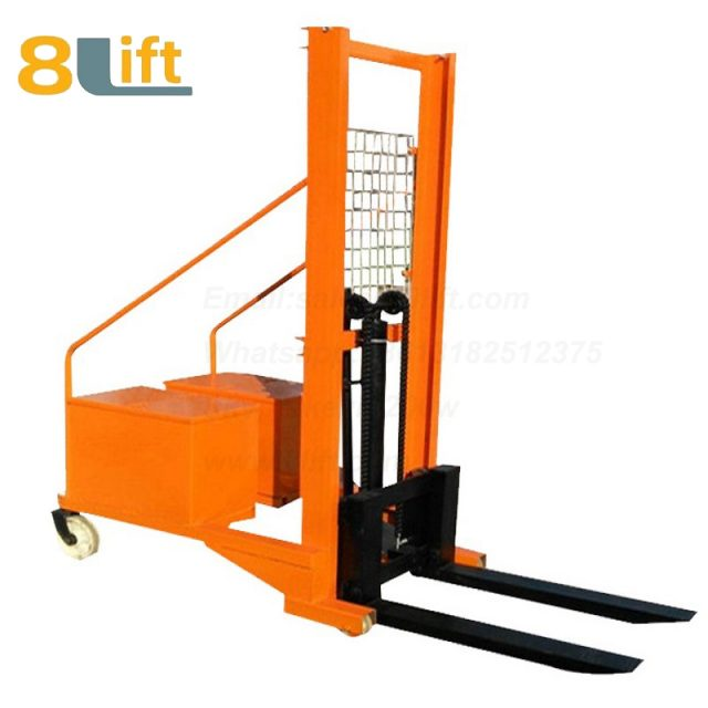 Hydraulic Counterweight Counter Balance Manual stacker-11-1