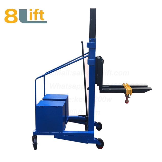 Hydraulic Counterweight Counter Balance Manual stacker-12-1