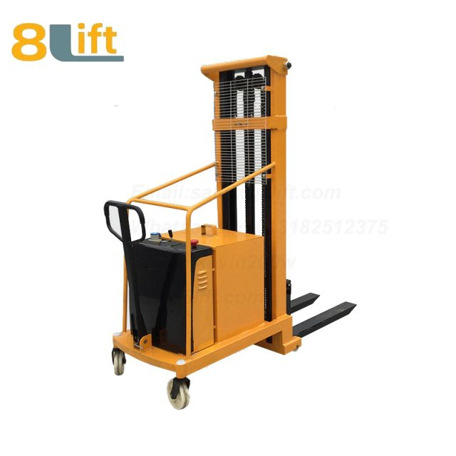 Hydraulic Counterweight Counter Balance Semi electric stacker-2-1
