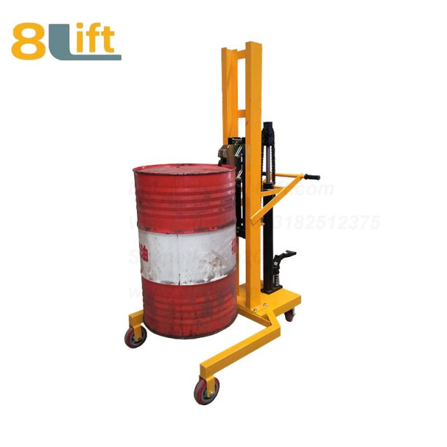 Hydraulic Foot Press Step On Cylinder Barrel Oil Drum Trolley Car1-1