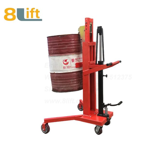 Hydraulic Right Angle Leg Foot Press Step On Cylinder Barrel Oil Drum Trolley Car-1-1