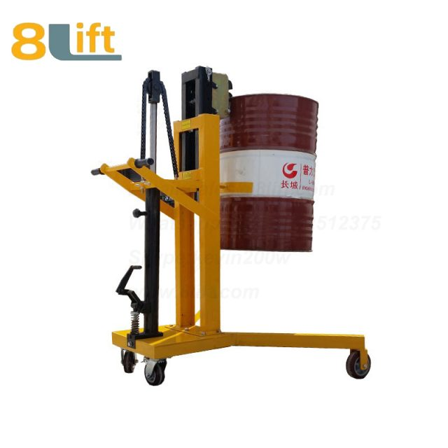 Hydraulic Right Angle Leg Foot Press Step On Cylinder Barrel Oil Drum Trolley Car2-1