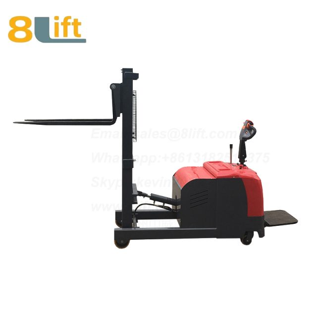 Hydraulic tilted tilt Forward backward leaning back forerake hypsokinesis counterweight counter balance electric stacker-3-1