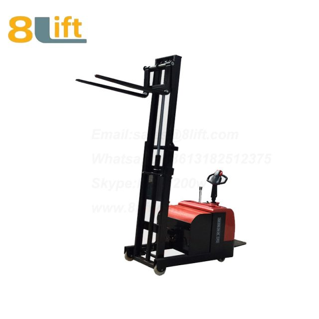 Hydraulic tilted tilt Forward backward leaning back forerake hypsokinesis counterweight counter balance electric stacker-4-1