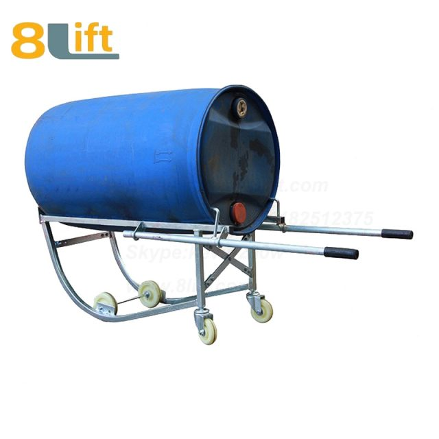Mechanical Manual Hand Operated Move Lift Oil Drum Truck Trolly Trolley1